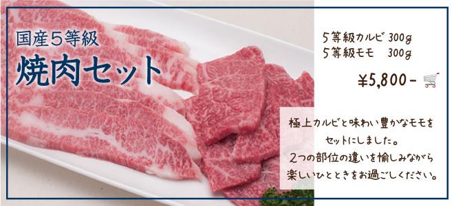 国産5等級焼肉セット